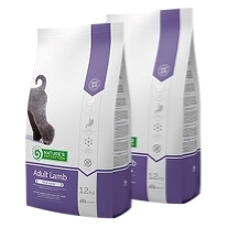 2 x Natures Protection  Adult Lamb 12 kg